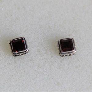 Jewelry - Sterling Silver Bali Style 2.22 ct Earrings